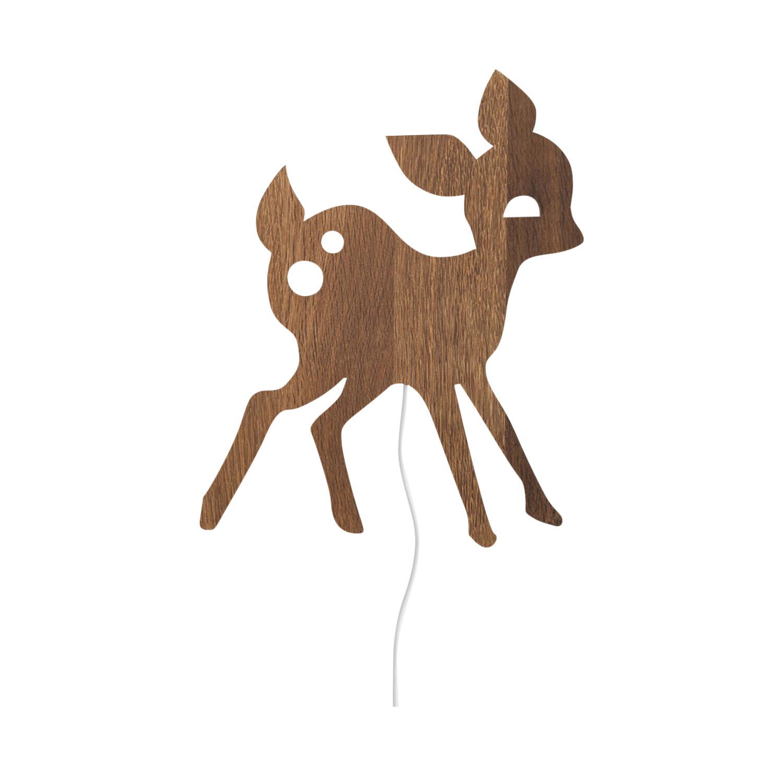 Ferm Living My Deer Lamp Smoked Oak