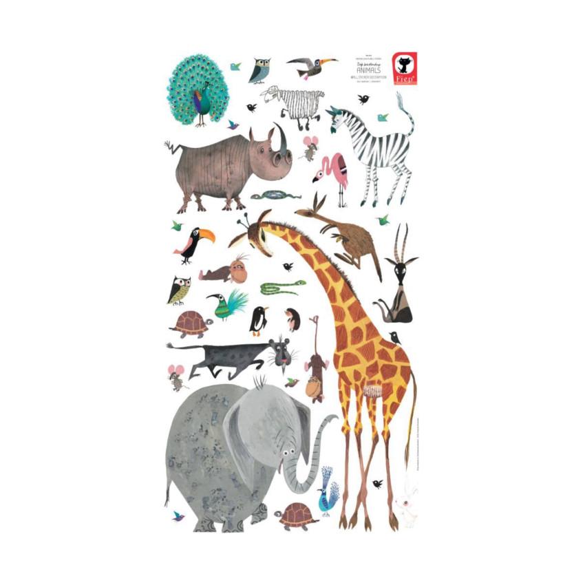KEK AMSTERDAM Animals Fiep Muursticker 97 x 180 cm