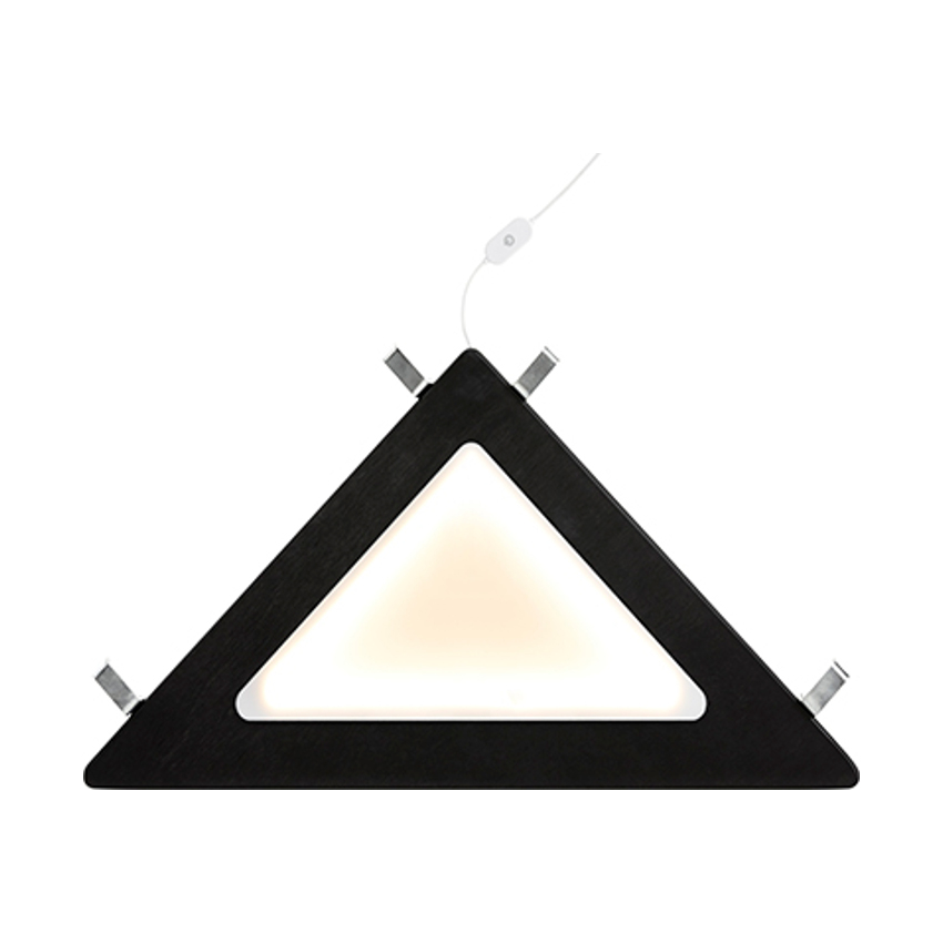 LIFETIME Kidsrooms Hoeklegplank Met Lamp Zwart