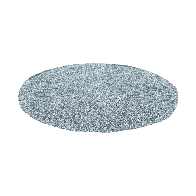 Smallstuff Vloerkleed Rond Grey Melange
