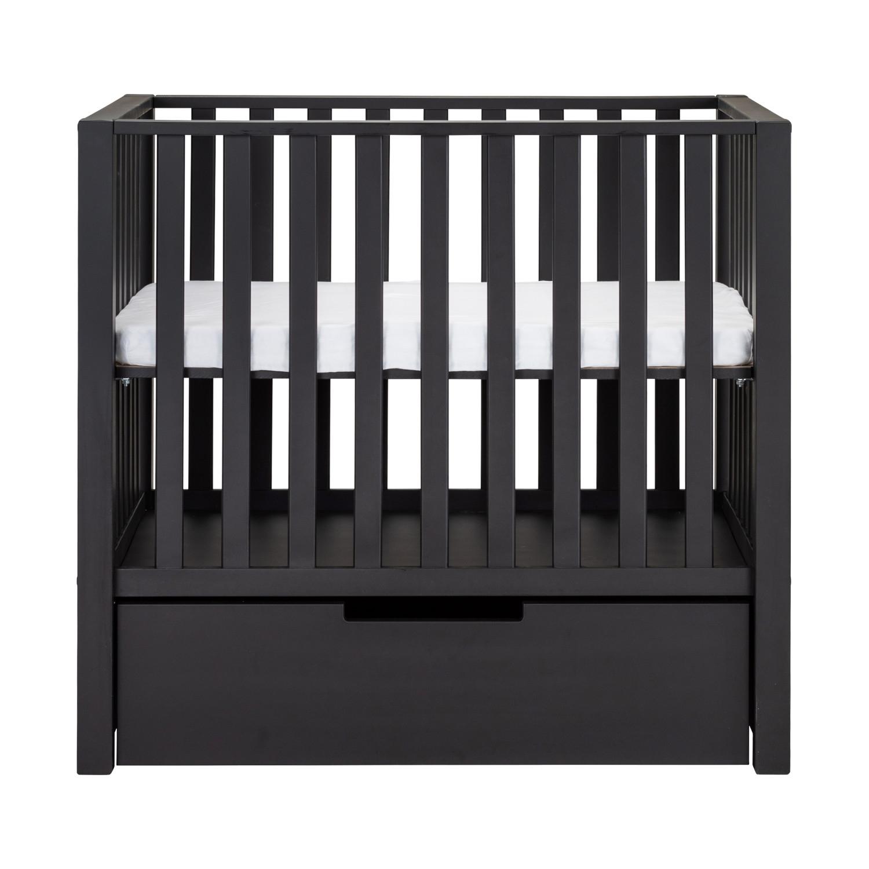 Europe Baby Mees Box Met Lade Mat Zwart