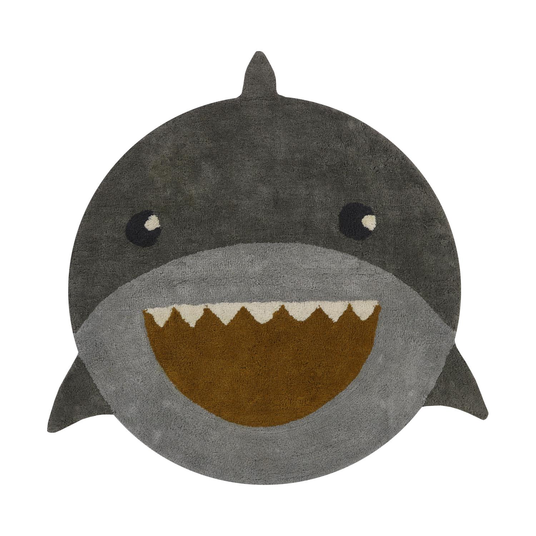 Tapis Petit Round Rug Vloerkleed 110 x 110 cm Shark