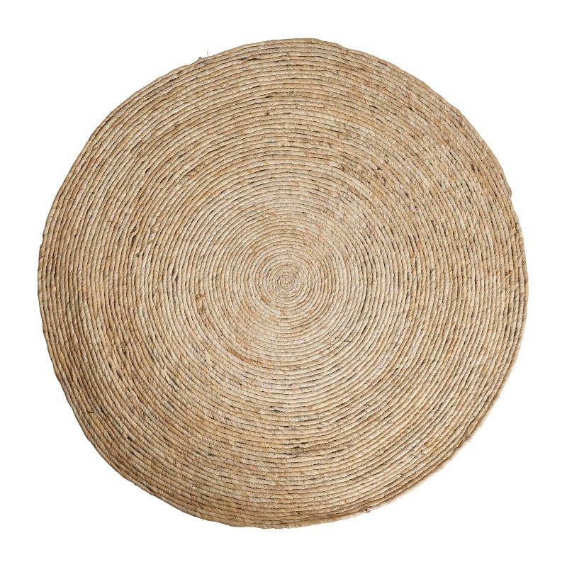 Vloerkleed riet - naturel - 87 cm
