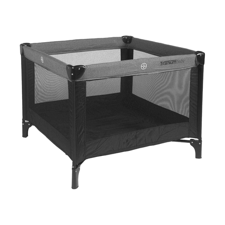 Titaniumbaby Opvouwbare Box Zwart Melange